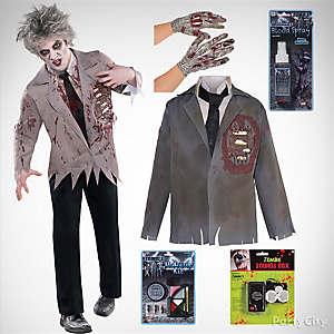 Mens Zombie Costume Idea