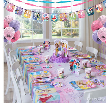Disney Princess Party Table Idea