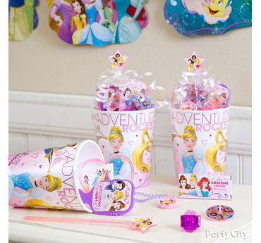 Disney Princess Favor Cup Idea