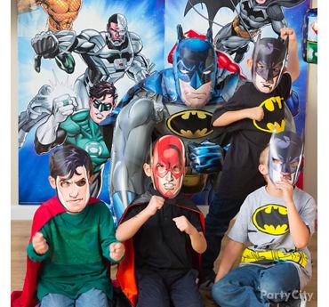 Justice League Party Ideas
