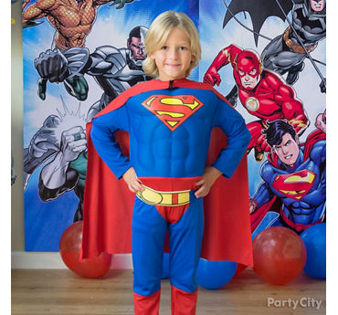 Justice League Birthday Costume Idea