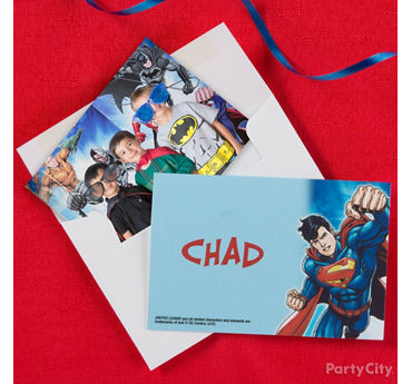 Justice League Thank You Note Idea