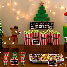 Holiday Movie Night Party Ideas