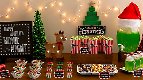 Holiday Movie Night Party Ideas