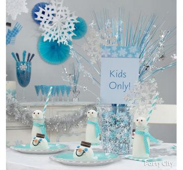 Sparkling Snowflake Centerpiece DIY