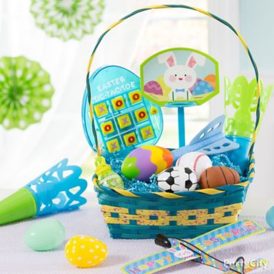 Boys Favors Easter Basket Idea