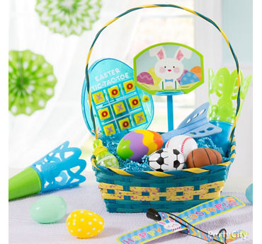 Easter basket and party ideas party city party city boys activity easter basket idea negle Images