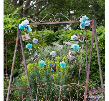 Love Story Garland Idea