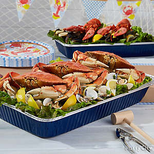 Crab Feed Serving Idea