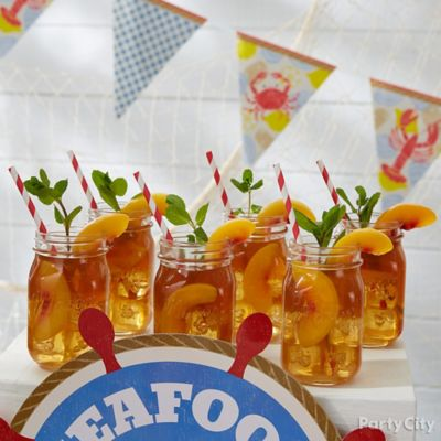 Iced Peach Sweet Tea Recipe