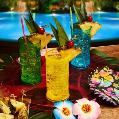 Colorful Tiki Drinks Idea