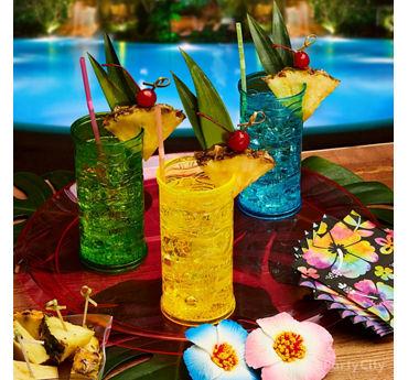 Colorful Tiki Drinks Idea
