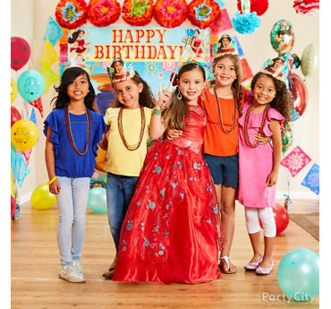Elena of Avalor Photo Booth Activity Idea