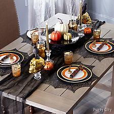 Eerie Elegant Tablescape Idea