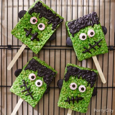 Monster Munchies Crispy Rice Treat How To