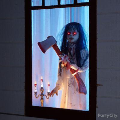 Girl in the Window Idea