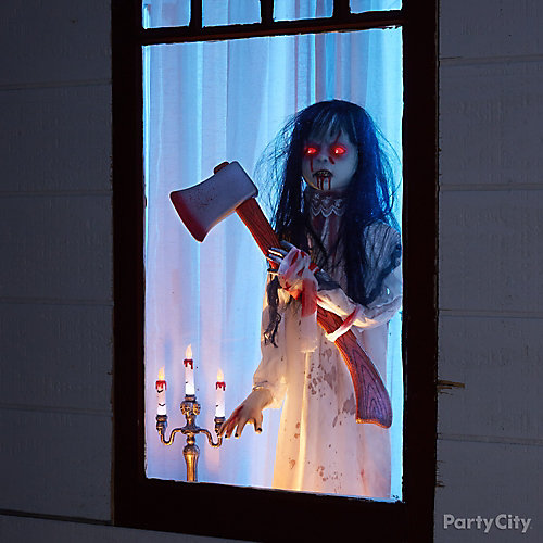 Halloween Girl In The Window How To