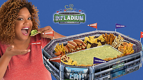 Sunny Anderson's Infladium Football and Tailgating Recipes