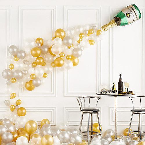 Champagne Pour Balloon Idea