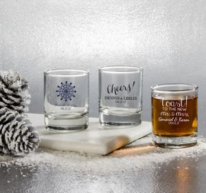 Personalized Shot Glasses <br>(Printed Glass)