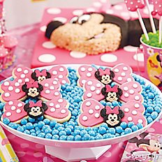 Minnie Mouse Bow Cookies