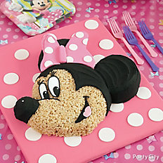 Minnie Mouse Cereal Cake