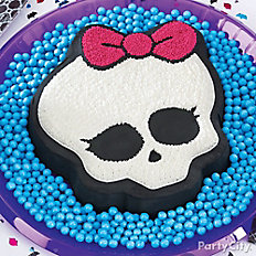 Monster High Skullette Cake