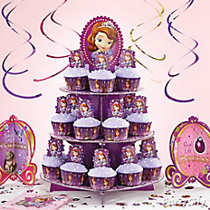 Sofia the First Cupcake Tower