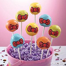 Hello Kitty Doughnut Pops