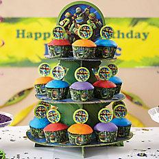 TMNT Cupcake Tower
