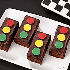 Cars Stoplight Brownies