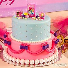 Disney Princess Fondant Cake