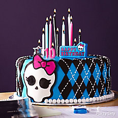Monster High Skullette Fondant Cake
