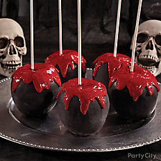 Bloody Good Candy Apples