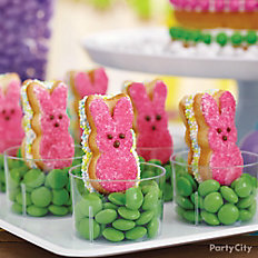 Peeps Bunny Cookie Sandwiches
