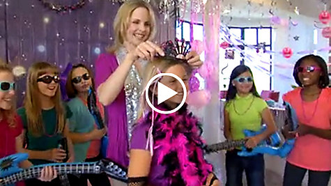 Rocker Girl Party Ideas Video