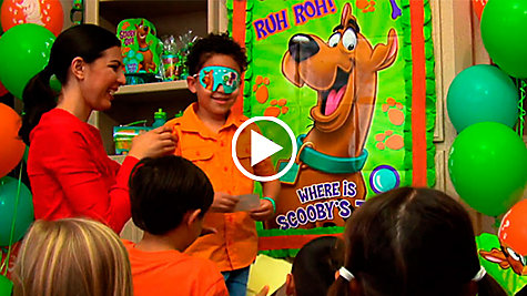 Scooby-Doo Party Ideas Video