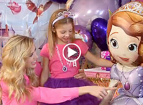 Sofia the First Party Ideas Video