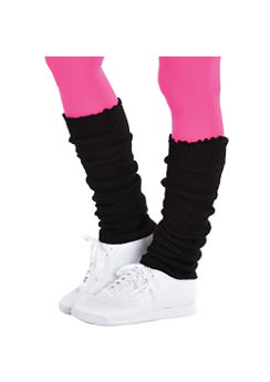 Adult Black Leg Warmers