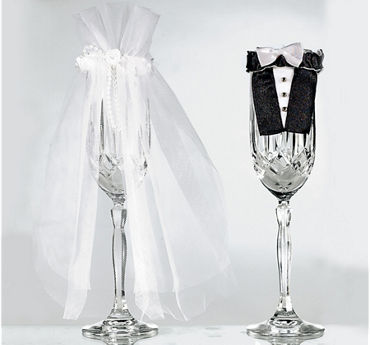 Bride and Groom Wedding Stem Wear