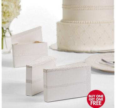 Cake Slice Favor Boxes