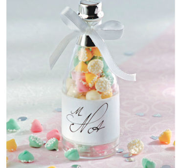 Champagne Bottle Wedding Favor Kit