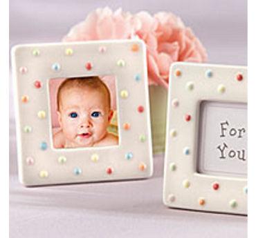 Delightful Polka Dot Photo Frame