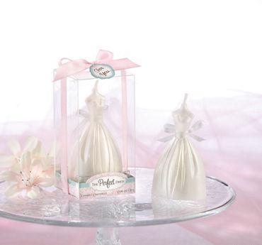 Wedding Dress Candle Bridal Shower