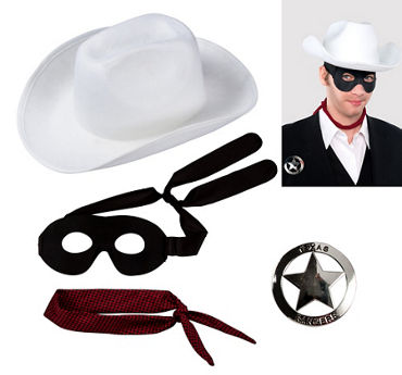 Adult Lone Ranger Accessory Kit
