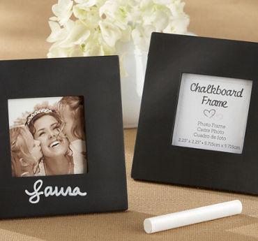 Chalkboard Photo Frame Place Card Holder