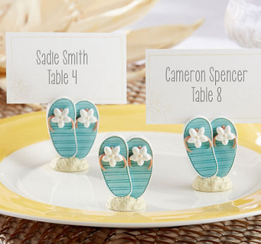 Beach Flip Flop Place Card Holders