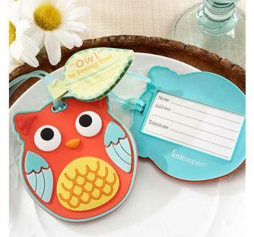 Owl Luggage Tag