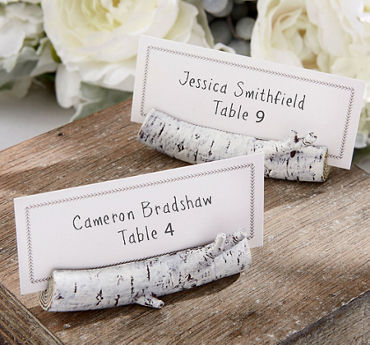 Birch Branch Place Card Holders
