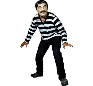 El Capo Inmate Costume Kit 2pc